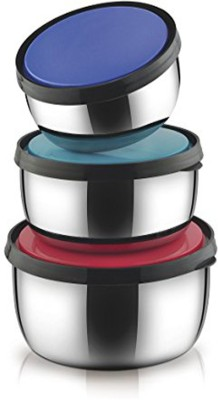 Jeeya Leak Resistant & Spill Free Food Storage 3 Containers Lunch Box(2250 ml) at flipkart