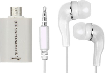 Mocell Headphone Accessory Combo for Redmi Note 4 White