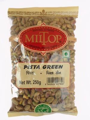 MilTop Pista green Pistachios(500 g, Pouch)