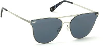 IMAGE Round Sunglasses(Black) at flipkart