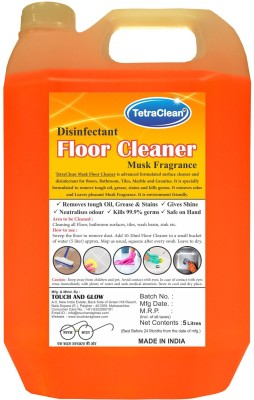 TetraClean Floor Cleaner Fresh Musk Floor Cleaner(5 L)