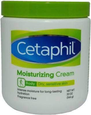 Cetaphil Moisturizing Cream for Dry, Sensitive Skin, Fragrance Free, 20 oz(566 g)