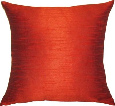 Vatsara Plain Cushions Cover(36 cm*36 cm, Orange)  available at flipkart for Rs.86