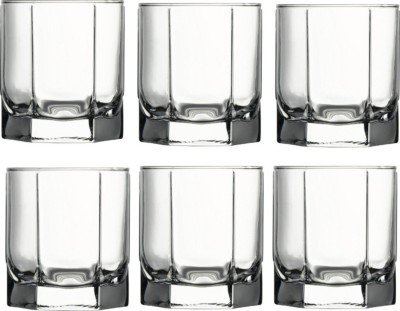 Pasabahce Craft Stylish Stemmed crystal clear Glasses Glass Set(Glass, 485 ml, Clear, Pack of 4)