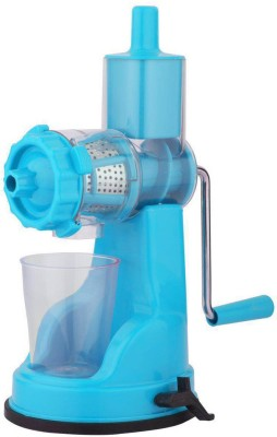 Capital Kitchenware Fruit & Vegetable Juicer Plastic, Stainless Steel Hand Juicer(Blue Pack of 1) at flipkart
