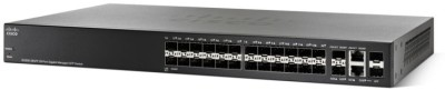 Cisco SG300-28SFP-K9 Network Switch (Black)