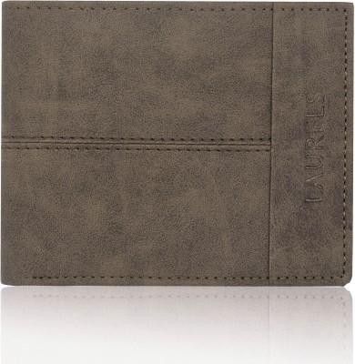 Laurels Men Casual, Formal Brown Genuine Leather Wallet
