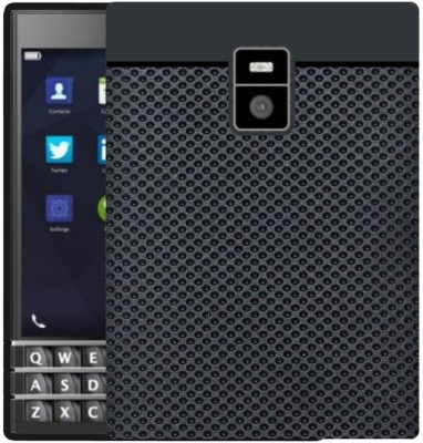 Hello Zone Back Cover for Blackberry Passport(Black)