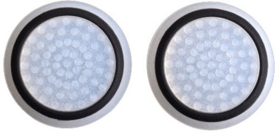 TCOS Tech Glow in the Dark Thumb Grip Anti Slip Silicon Cap Cover  Gaming Accessory Kit(White, Black, For PS4, PS3, Xbox 360, Xbox One)  available at flipkart for Rs.199