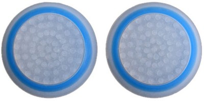 TCOS Tech Glow in the Dark Thumb Grip Anti Slip Silicon Cap Cover  Gaming Accessory Kit(White, Blue, For PS4, PS3, Xbox 360, Xbox One)  available at flipkart for Rs.199