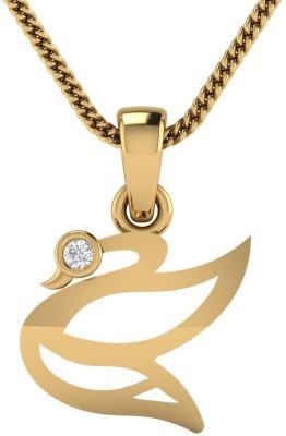 AVSAR Reshama 18kt Diamond Yellow Gold Pendant