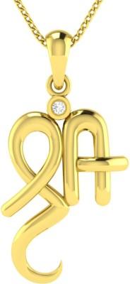 AVSAR Kirti 14kt Yellow Gold Pendant
