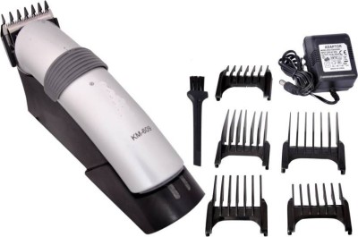 Gemei G/k-emei km-609  Runtime: 30 min Trimmer for Men(Silver)