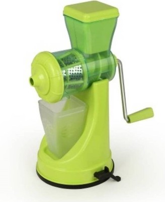 Manoramaenterprises Prepare Fruit As Well As Vegetable Plastic Hand Juicer(Green Pack of 1) at flipkart
