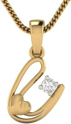 AVSAR Apurva 18kt Diamond Yellow Gold Pendant