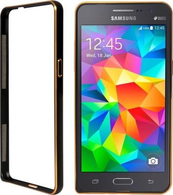 DMG Bumper Case for Samsung Galaxy Grand Prime(Black, Shock Proof)