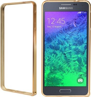 DMG Bumper Case for Samsung Galaxy Alpha G850(Gold, Shock Proof)