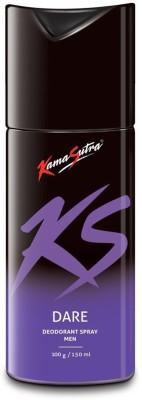 KamaSutra Dare Deodorant Spray  -  For Men(150 ml)  available at flipkart for Rs.195