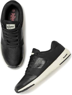 Roadster Sneakers For Men(Black) at flipkart
