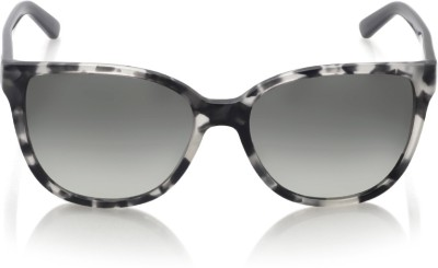 DKNY Round Sunglasses(Grey) at flipkart