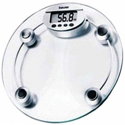 Unique Gadget Digital Glass Weight Measurement Machine (Kgs/Lbs) Weighing Scale(White)  available at flipkart for Rs.585