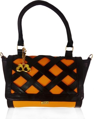 Anglopanglo Satchel(Black, Orange)
