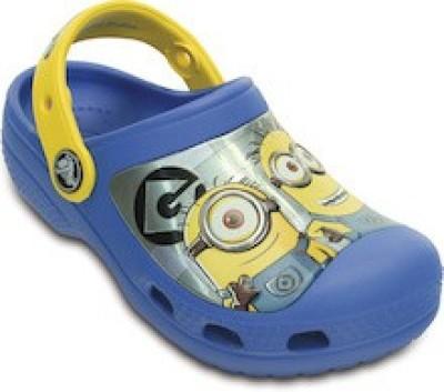 Crocs Boys & Girls Sling Back Clogs(Blue) at flipkart