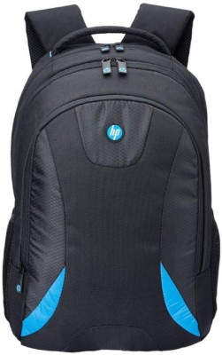HP 16 inch Laptop Backpack(Black, Blue)