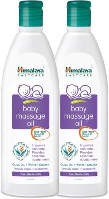 Himalaya Baby Massage Oil, 200 ML (pack of 2)