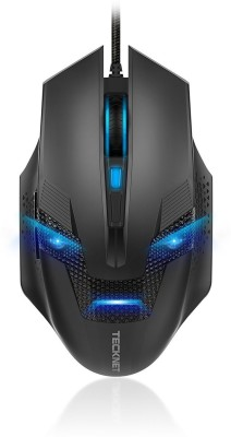 Tecknet M268 Raptor Black Wired Optical Gaming Mouse
