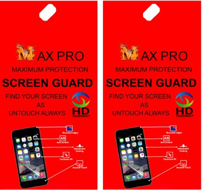 Maxpro Screen Guard for Diamond Screen Guard Apple iPad Mini 2(Pack of 2)