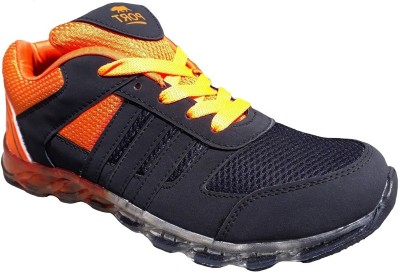Port Mens Sports PU Marathon Running Shoes For Men(Multicolor)