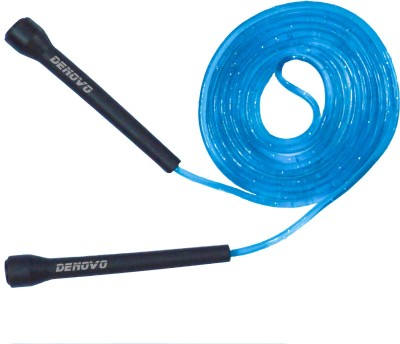 DeNovo Speed Jump (Blu) Speed Skipping Rope(Blue, Pack of 1)  available at flipkart for Rs.99
