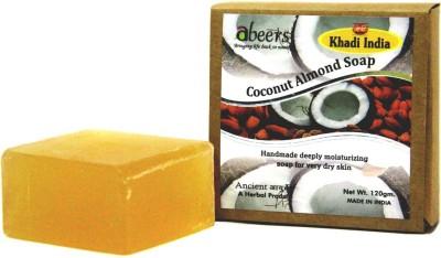 khadi abeers PURE ESSENCE COCONUT ALMOND SOAP(120 g)