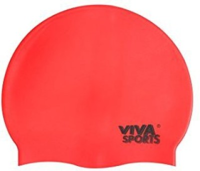 Viva Sports SURPLUS-CAP-RED swimming Cap(Red, Pack of 1)  available at flipkart for Rs.103