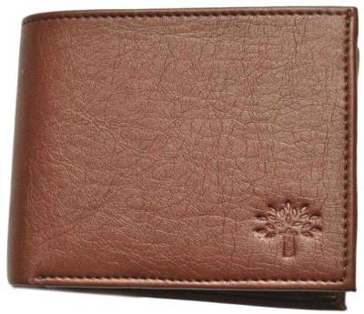 Sky Marketings Men Tan Artificial Leather Wallet(9 Card Slots)