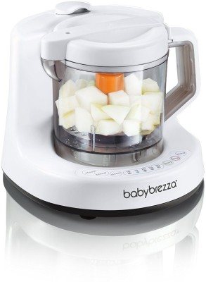 Baby Brezza One Step Baby Food Maker(White, Grey)  available at flipkart for Rs.9537