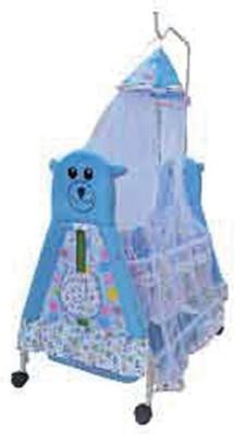 AdevWorld Baby Stylish Classy Bassinet(Blue)