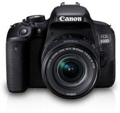 Canon EOS 800D DSLR Camera