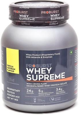 Proburst Whey Supreme Whey Protein(1 kg, Vanilla Ice cream)