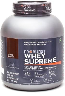 Proburst Whey Supreme Whey Protein(2 kg, Coffee)