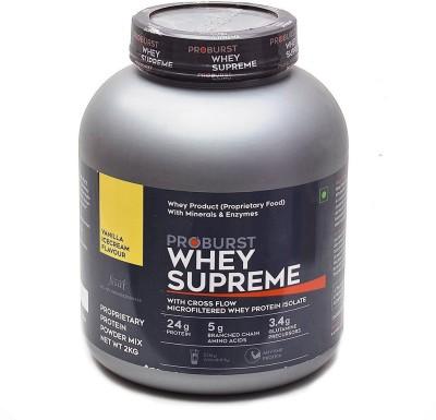 Proburst Whey Supreme Whey Protein(2 kg, Vanilla Ice cream)