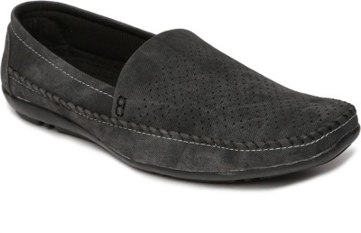 Paragon Men Grey Casual Shoes Loafers