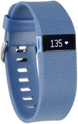 Fitbit Charge HR(Blue Strap, Size : Small)