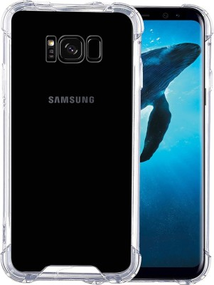 Casotec Back Cover for Samsung Galaxy S8 Plus Clear, Silicon