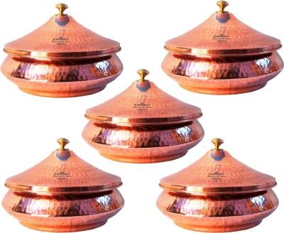 Indian Craft Villa Mughlai Biryani Cookware Set(Copper, Steel, 5 - Piece) at flipkart