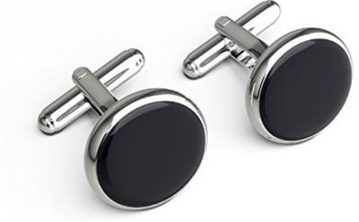 Verceys Brass, Alloy cufflink Set(Black)  available at flipkart for Rs.198