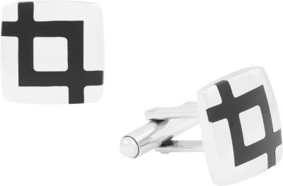 The Jewel Box Brass Cufflink Set(Black)