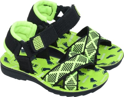 BUNNIES Boys Velcro Strappy Sandals(Green)  available at flipkart for Rs.192