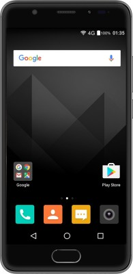 Yu Yureka Black (Matte Black, 32 GB)(4 GB RAM) at flipkart